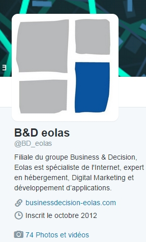 Exemple description Twitter
