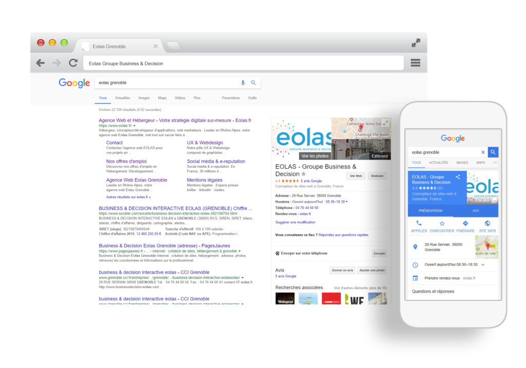 EOLAS - Google My Business
